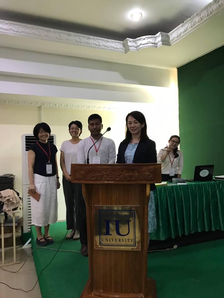 第二回 カンボジア薬学生向け講演会